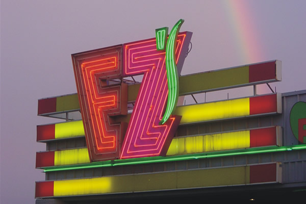 EZ - Illuminated Sign
